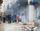 إزالة عقار بالخليفة بعد نشوب حريق لخطورته على المواطنين والمبانى المجاورة