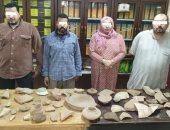 سقوط عامل وزوجته أثناء التنقيب عن الآثار وبحوزتهما 51 قطعة أثرية بالوايلى