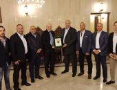 صور.. أستقبال السفير المصرى بالسعودية لبعثة الاتحاد السكندرى
