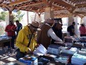 """معرض لبيع الكتب الأثرية بعنوان """"تراثك فى كتاب"""" بأسوان.. صور"""