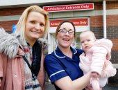 دخلت فى غيبوبة فأنجبت طفلة.. اعرف قصة أغرب حالة ولادة فى إنجلترا.. صور