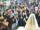 محمد حماقى وبوسى يشعلان حفل زفاف رشا الكيال وخالد هانى أباظة