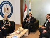 وزير البترول يستقبل مسؤولى شركات البترول العالمية بمعرض إيجبس