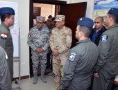 صور.. وزير الدفاع يتفقد مراحل الإعداد والتأهيل العلمى لطلبة القوات الجوية