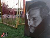 """فيديو وصور.. نادي الجزيرة يحتفل بـ """"الفالنتين"""" بعمالقة زمن الفن الجميل"""