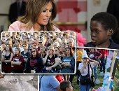صور..العالم هذا الصباح.. ميلانيا ترامب تقضى عيد الحب بصحبة أطفال مرضى.. تدفق المساعدات الإنسانية على فنزويلا بسبب الأزمة الاقتصادية.. آلاف الأمريكيين يحيون الذكرى الأولى لإطلاق نار بمدرسة فى فلوريدا