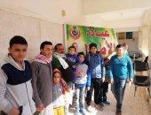 صور.. توقيع الكشف الطبى لـ2227 مواطن بقافلة مجانية بقرية بهنيا فى الشرقية