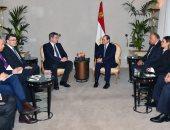صور.. الرئيس السيسي يلتقى برئيس وزراء ولاية بافاريا بمقر إقامته فى ميونيخ