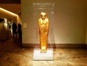 قصة تابوت ذهبى استعادته مصر بعد عرضه فى متحف متروبوليتان بشكل غير شرعى