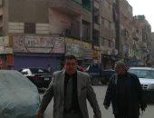 حى المطرية يصادر 4 عربات كارو ويرصف 3 شوارع رئيسية