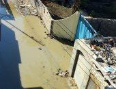 شكوى من غرق شوارع قرية السلطان حسن بمياه الصرف الصحى فى محافظة الشرقية