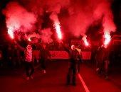 آلاف المحتجين يخرجون فى مسيرات وسط بلجراد ضد الرئيس الصربى