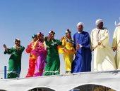 صور.. 23 فرقة فنون دولية ومحلية تشارك فى مهرجان أسوان بحضور وزيرة الثقافة