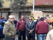 رئيس حى جنوب الجيزة يقود حملة لرفع الإشغالات بالشوارع الرئيسية