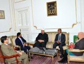 رئيس ديوان رئيس جمهورية المالديف يثنى على تجربة الأوقاف فى تجديد الخطاب الدينى