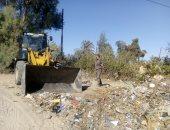 رفع 860 طن قمامة وإزالة 224 مخالفة إشغال خلال حملات مكثفة بالبحيرة