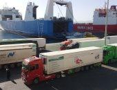 تداول 577 ألف طن بضائع بموانئ البحر الأحمر خلال يناير الماضى