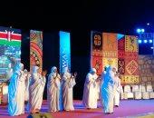 فيديو.. وصلة رقص لفرقة كينيا تستحوذ على انتباه جمهور مهرجان أسوان الدولى
