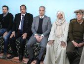 """صور.. محافظ سوهاج يطلق اسم الشهيد """"طه إبراهيم"""" على الطريق المؤدى لقريته"""
