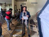 """حسن الرداد ينشر أول صور من كواليس تصوير مسلسل """"الزوجة الـ 18"""""""
