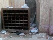 اضبط مخالفة.. القمامة تحاصر مكتب بريد زفتى فى ظل غياب لمجلس المدينة