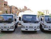محافظ قنا: وصول دفعة جديدة من معدات النظافة بـ4 مليون و988 ألف جنيه