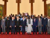السيسى لرؤساء المحاكم الدستورية الأفريقية: نتطلع لتكثيف أواصر العمل الأفريقى