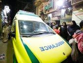 """نقل جثامين شهداء حادث """"الدرب الأحمر"""" الإرهابى للمشرحة"""