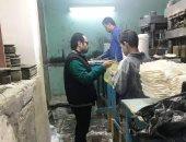 ضبط مصنع أطباق ملامين بالدقهلية يستخدم مواد مسرطنة ممنوع تداولها