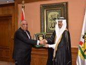 رئيس الرقابة الإدارية يستقبل رئيس الهيئة الوطنية لمكافحة الفساد السعودية