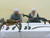 مدرعات ومجموعات قتالية تقتحم بؤر إجرامية وتضبط 644 قطعة سلاح