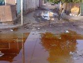 قارئ يشكو من تلف مواسير المياة بقرية بنبان بمحافظة أسوان