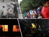 صور.. العالم هذا الصباح.. مصرع 70 شخصا على الأقل فى حريق بمستودع مواد كيميائية ببنجلاديش.. المئات فى فنزويلا يصطفون لصرف حصص الطعام بسبب الأزمة الاقتصادية.. وأمطار ثلجية تغطى الولايات المتحدة الأمريكية