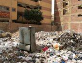 قارئ يشكو انتشار القمامة بشارع التعاون فيصل بالهرم