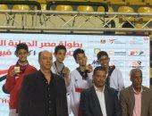 32 ميدالية للاعبي مصر في أول أيام بطولة مصر الدولية للكاديت