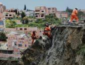 ارتفاع قتلى الانهيار الأرضى جنوب غربى الصين إلى 29 قتيلا