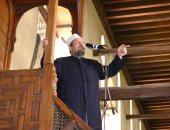 وزير الأوقاف يخطب الجمعة بمسجد المغفرة بالجيزة عن الاسراء والمعراج