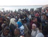 محافظ أسوان: 3 آلاف زائر شاهدوا تعامد الشمس فى أبوسمبل.. صور