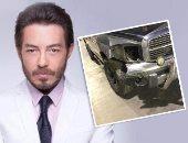 بعد تعرضه لحادث سيارة.. أحمد زاهر: قدر الله وما شاء فعل