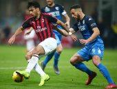 ميلان يسحق امبولى بثلاثية ويعزز مركزه الرابع فى الدوري الإيطالي.. فيديو