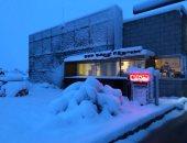 صور.. شاهد الثلوج تغطى مدينة لاس فيجاس