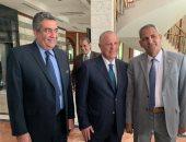 صور.. أبو ريدة ومجلس الجبلاية يستقبلون أعضاء الجمعية العمومية