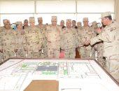 فيديو.. وزير الدفاع يتفقد وحدة التدريب الأساسى للمشاة ويلتقى بالجنود المستجدين