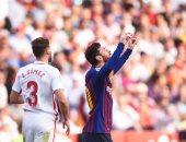 ملخص وأهداف مباراة برشلونة ضد إشبيلية فى الدوري الإسباني