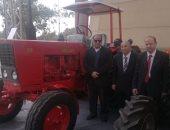 المحاريث والهندسة تشارك بجرارات ومعدات ميكنة زراعية مصرية بأرض المعارض