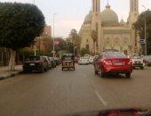 قارئ يرصد سير توك توك فى شارع رمسيس أمام مسجد الفتح