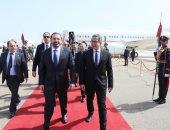 رئيس وزراء لبنان يصل شرم الشيخ للمشاركة فى أعمال القمة العربية الأوروبية