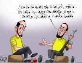 تعاطف الجهلة يحفز الإخوان على العمليات الإرهابية فى كاريكاتير اليوم السابع