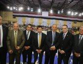 صور.. كواليس جلسة وزير الشباب والرياضة مع مجلس الشمس