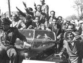 سعيد الشحات يكتب: ذات يوم 24 فبراير 1958.. عبدالناصر فى دمشق لأول مرة بعد الوحدة مع سوريا.. ومئات الآلاف فى الشوارع لاستقباله